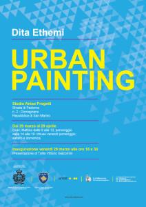 Urban painting, Dita Ethemi
