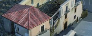 Shoring Historical Building – Villa Sant' Angelo Aquila