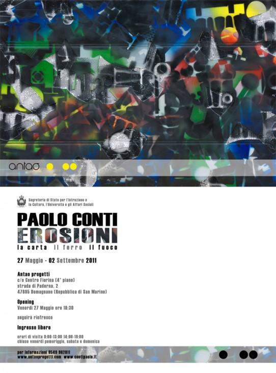 Paolo Conti, Erosioni