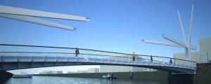 Port Channel & Pedestrian Bridge – Bellaria